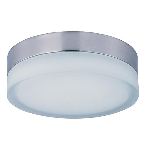 Illuminare LED Satin Nickel 9-Inch Wide One-Light Flush Mount
