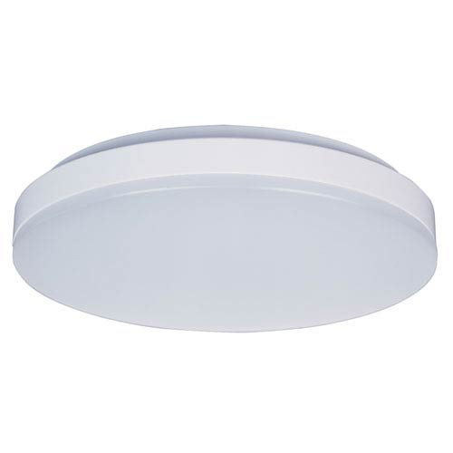 Profile EE White One-Light LED Thirteen-Inch Flushmount