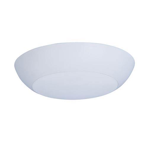 Diverse LED White One-Light Flushmount