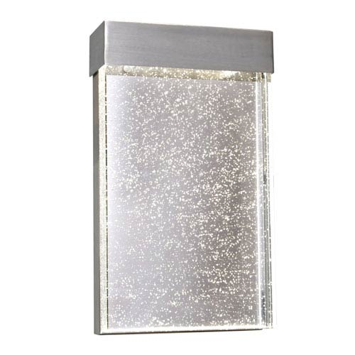 Maxim Lighting International Moda Stainless Steel 7-Inch Wide LED Wall Sconce