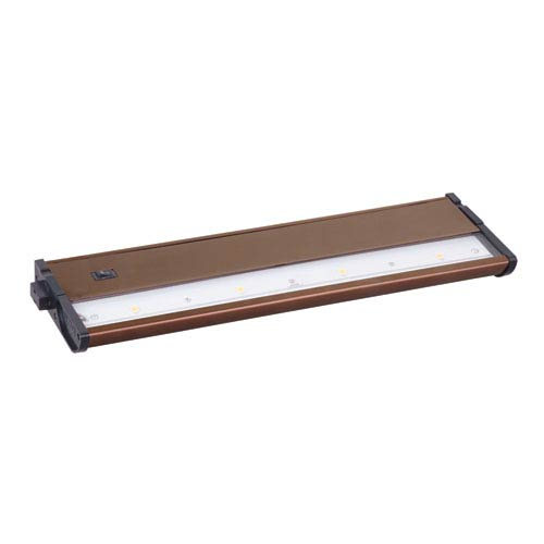 Maxim Lighting International CounterMax MX-L120DC Metallic Bronze 13-Inch 3000K 4-LED Under Cabinet