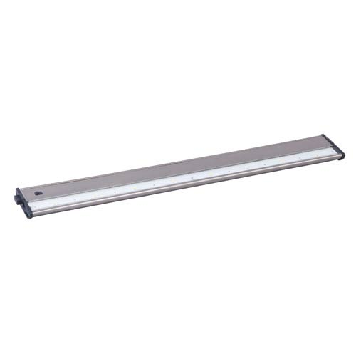CounterMax MX-L120DC Satin Nickel 30-Inch 3000K 8-LED Under Cabinet