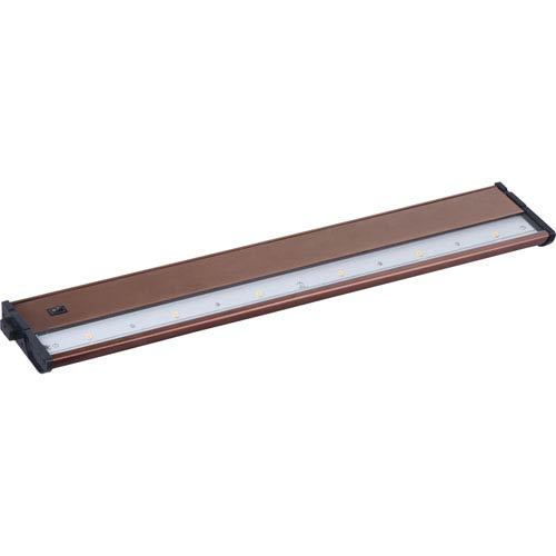 Maxim Lighting International CounterMax MX-L120DC Metallic Bronze 21-Inch 2700K 6-LED Under Cabinet