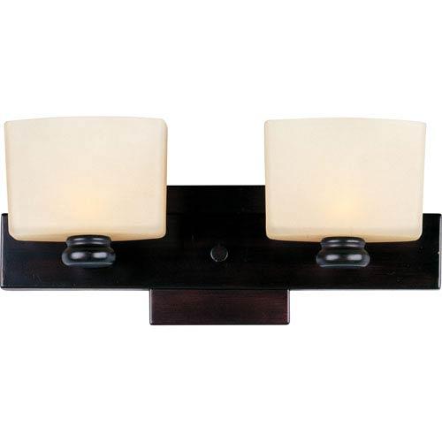 Maxim Lighting International Essence Oil Rubbed Bronze Two-Light Bath Fixture