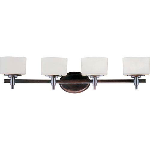 Maxim Lighting International Lola Oil Rubbed Bronze Four-Light Bath Fixture