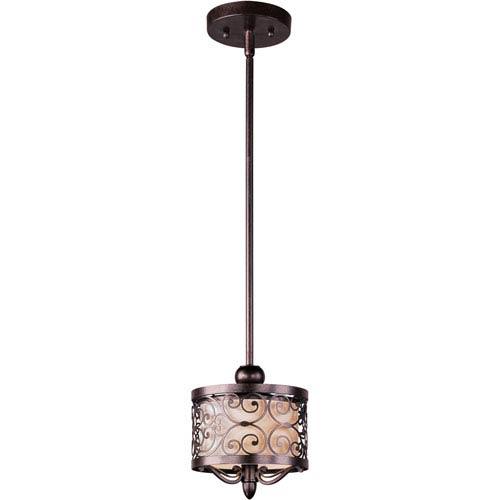 Mondrian Umber Bronze One-Light Mini Pendant