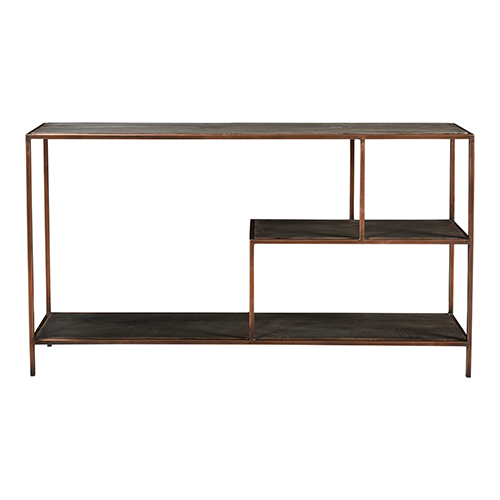 Bates Gray 30-Inch Console Table