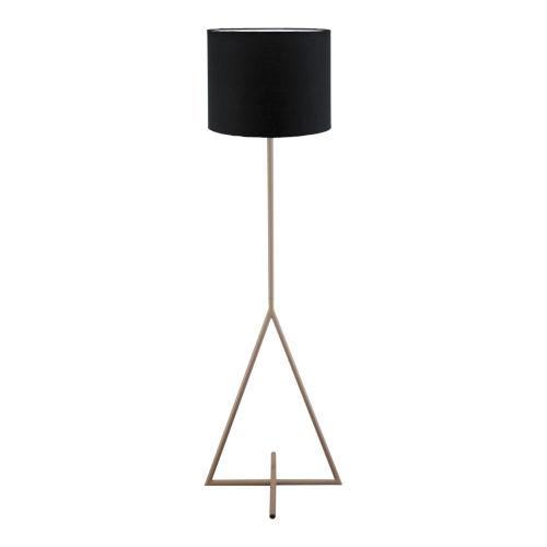 Newman Black One Light LED Floor Lamp