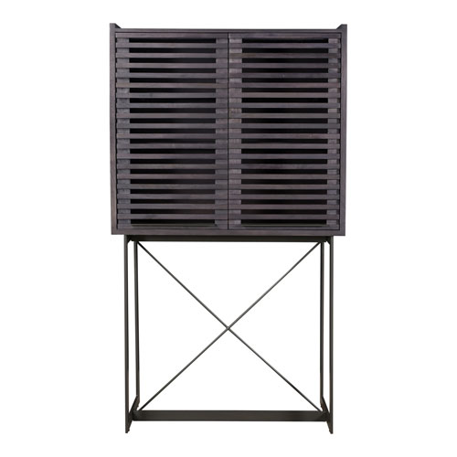 Paloma Charcoal Tall Bar