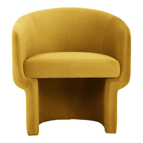 Franco Yellow Occasional Chair