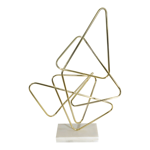 Moe's Home Collection  Polygon Table Top Decor Gold
