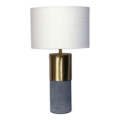 Koko Grey One-Light Lamp