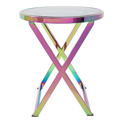 Aquila Multicolor Accent Table