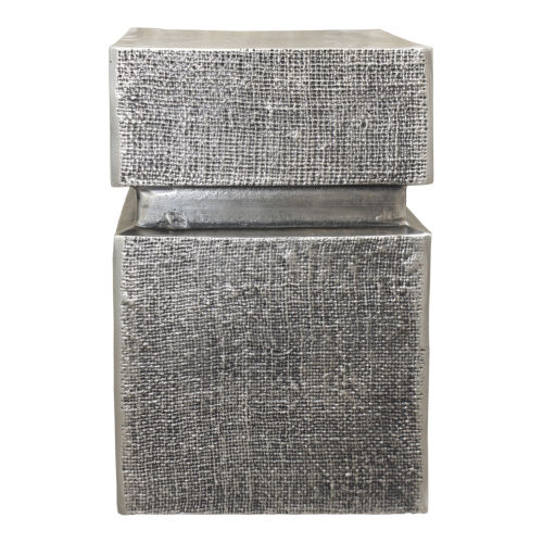 Holt Silver Accent Table