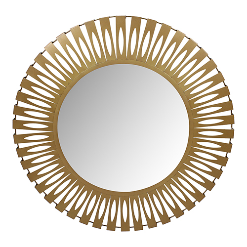 Gold Radiate 43-Inch Wall Mirror