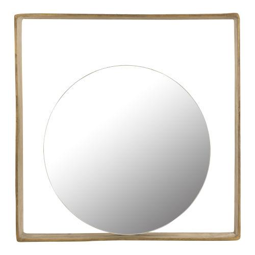 Tahoe Yellow 24 x 24 Inch Mirror