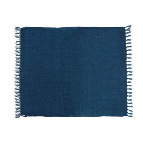 Retreat Throw Denim Blue