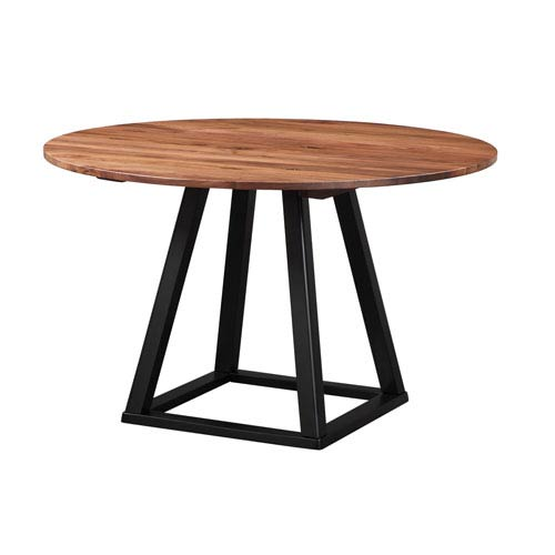 Moes Home Collection Tri Mesa 48 Inch Round Dining Table Bc 1032 03