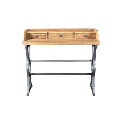 Colt Industrial Teak Desk