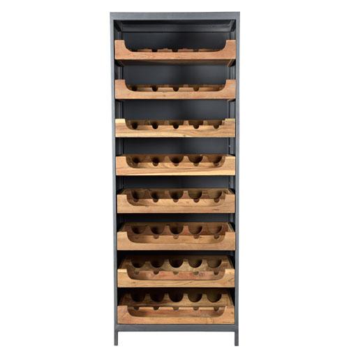 Moe's Home Collection  Speakeasy Teak Wine Cabinet