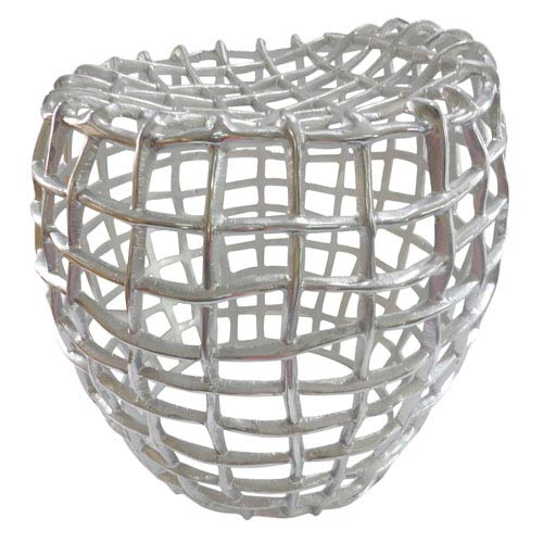 Moe's Home Collection  Silver Birdcage Stool
