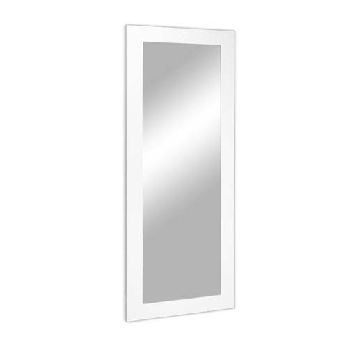 Kensington White Large Floor and Full Size Mirror