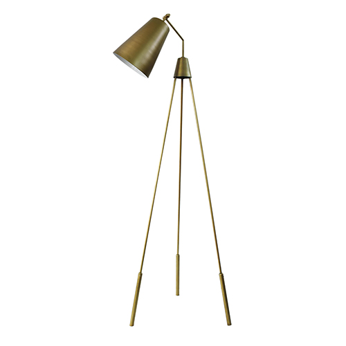 Moe's Home Collection  Amato Floor Lamp Gold