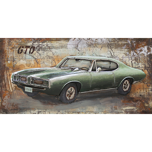 Moe's Home Collection  Muscle Car Wall Art