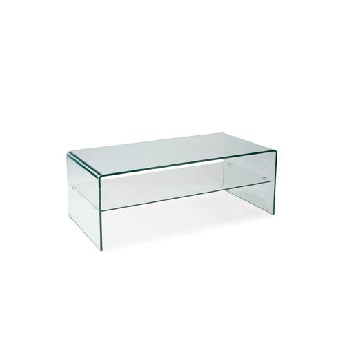 Moe's Home Collection  Sono Glass Coffee Table