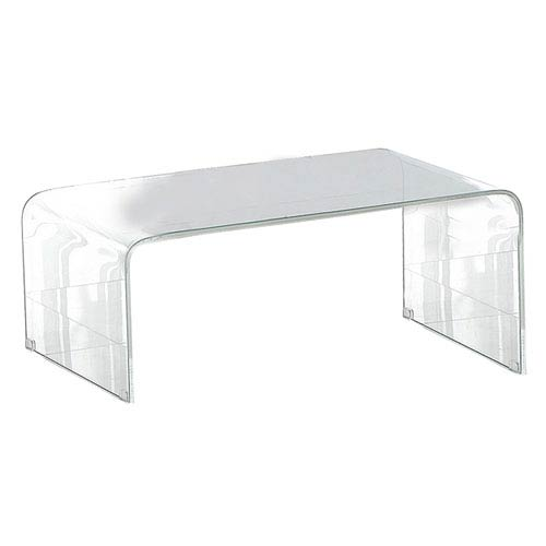 Pura Clear Glasss Coffee Table