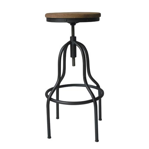 Remarkable Moes Home Collection Hanna Natural 30 Inch Adjustable Bar Stool Short Links Chair Design For Home Short Linksinfo