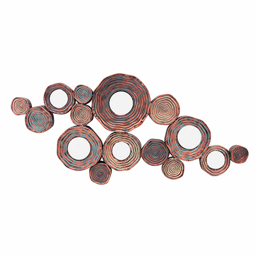 Circle Cluster Gold Wall Decor