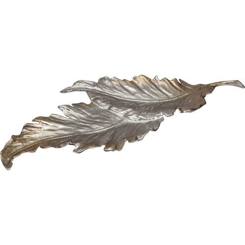 Fallen Leaves Silver Tray