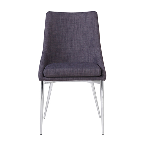 Powell Dining Chair Grey-Set Of Two
