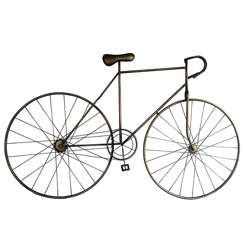 Moe's Home Collection  Mcmillan Bicycle Wall Art Bronze