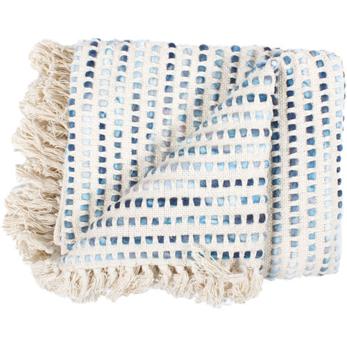 Satri Blue Throw