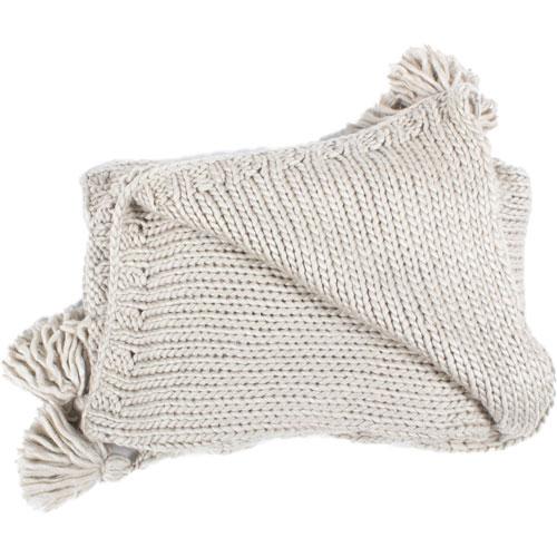 Kathleen Grey Throw Blanket