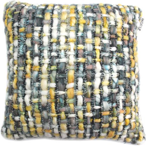 Karley Green Feather Cushion 20X20