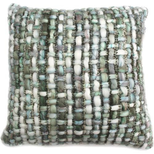 Randee Light Grey Feather Cushion 20X20