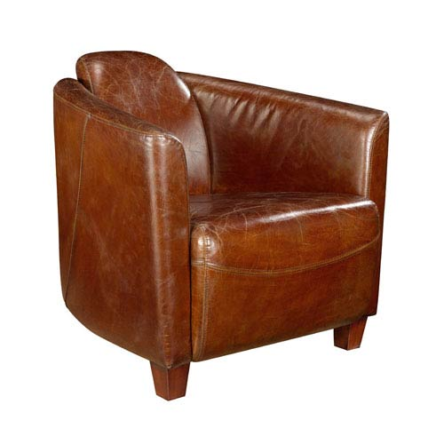 Salzburg Dark Brown Club Chair