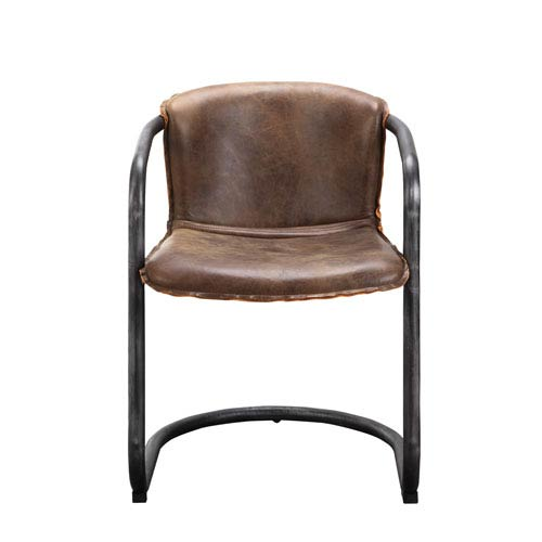 Benedict Light Brown Dining Chair, Set of 2