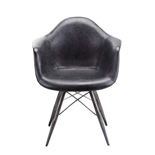 Moe's Home Collection  Flynn Black Club Chair -