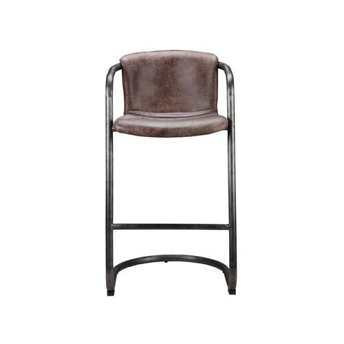 Freeman Bar Stool Light Brown - Set Of Two