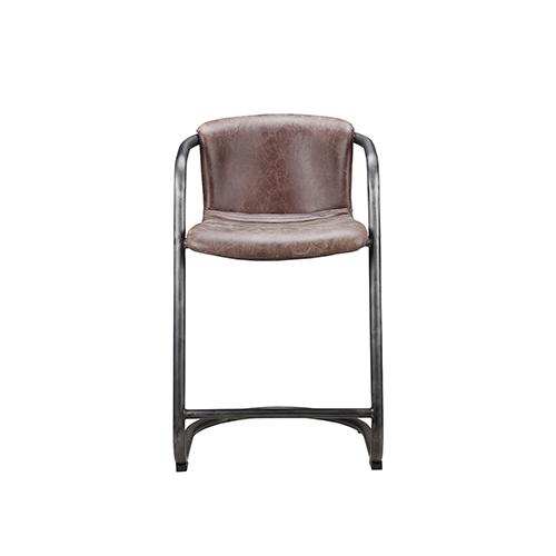 Freeman Counter Stool Light Brown-Set Of Two