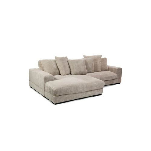 Plunge Cappucino Sectional