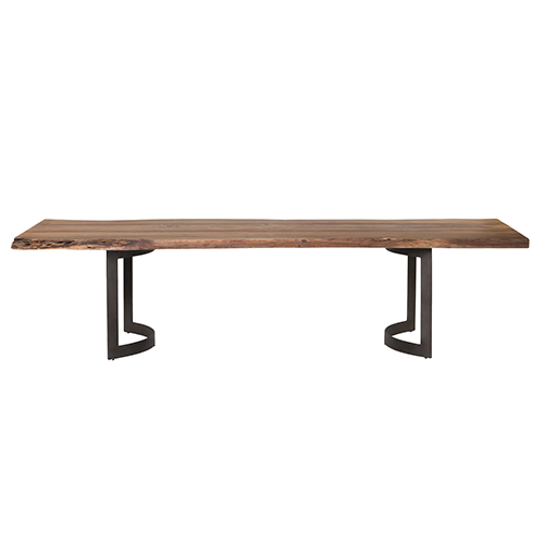 Bent Dining Table Smoked