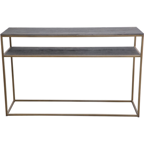 Moe's Home Collection  Studio Brass Console Table
