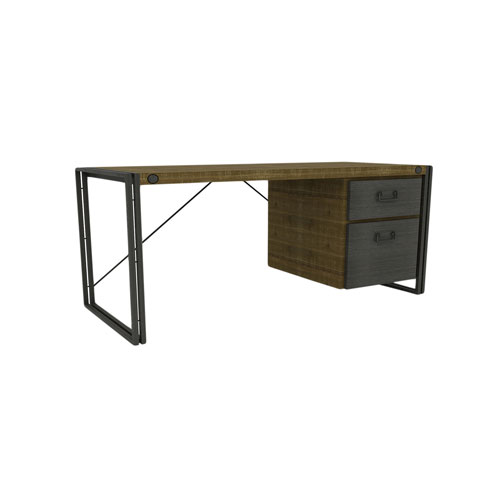 Moe's Home Collection  Brooklyn Dark Brown Desk