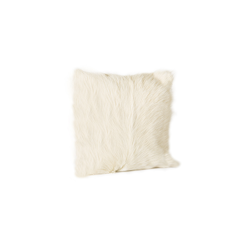 Moe's Home Collection  Goat Fur Pillow Natural