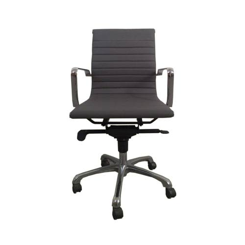 Omega Low Back Grey Office Chair